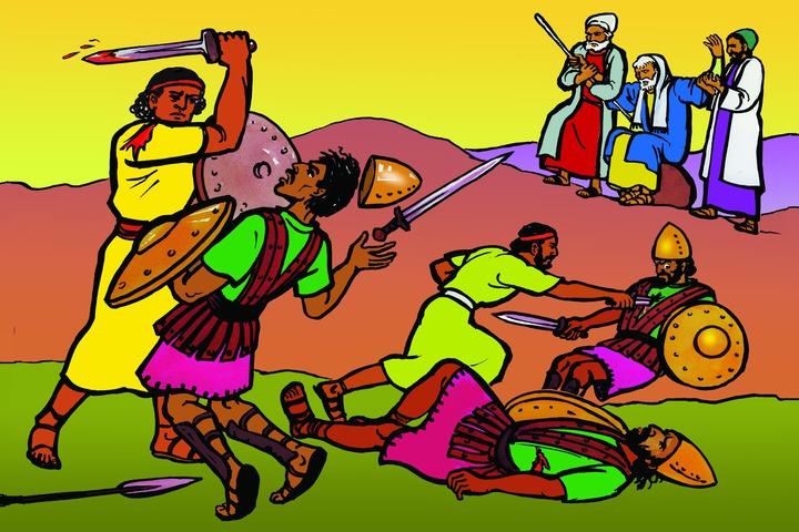Victory through GOD – Burmese